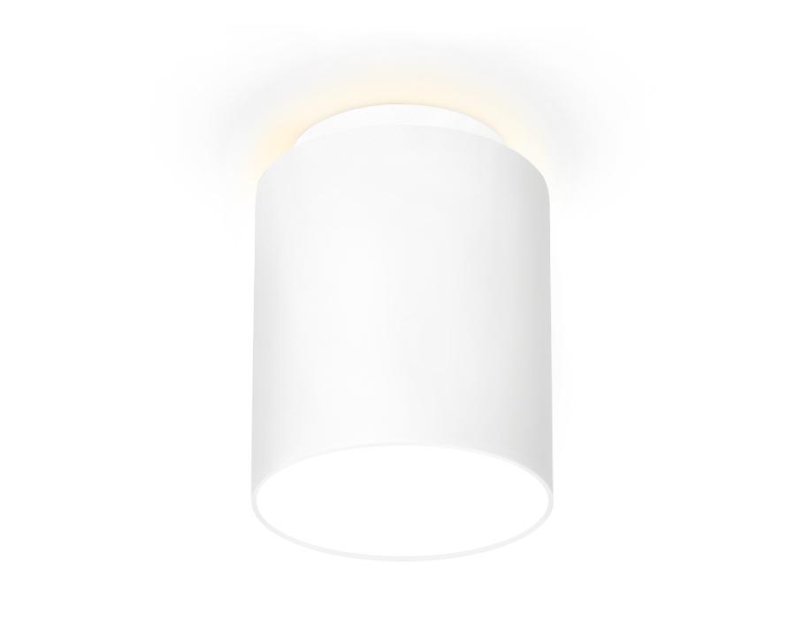 Накладной светодиодный точечный светильникTN261 WH/S белый/песок LED 4200K 10W D100*100