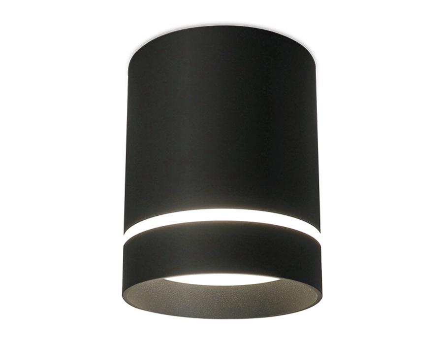 Накладной светодиодный точечный светильникTN281 SBK черный песок LED 4200K 9W D80*100