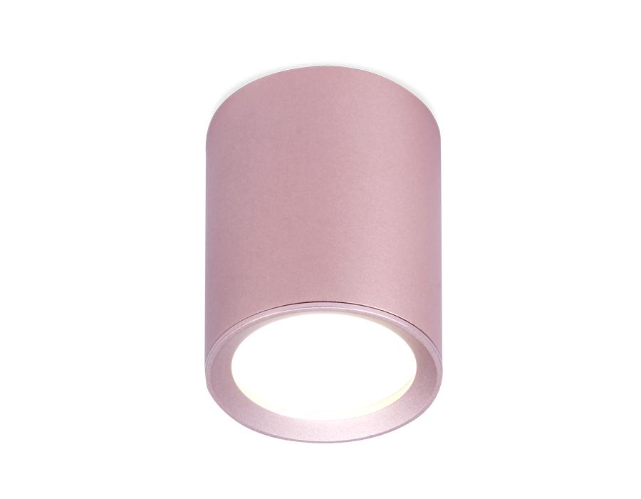 Накладной точечный светильник GU5.3TN217 PI/S розовый/песок GU5.3 D56*70