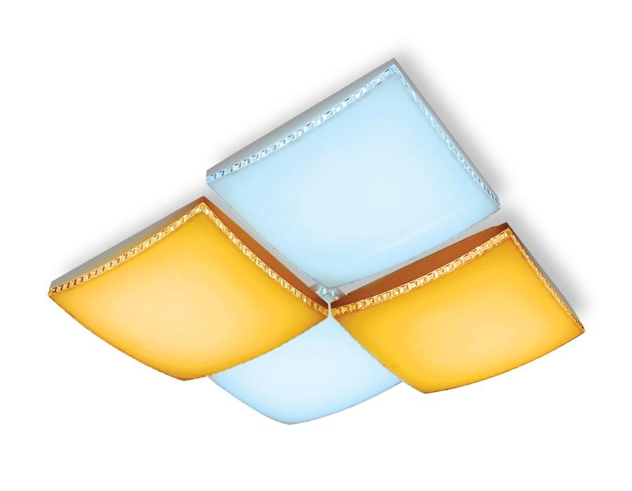 Потолочный светодиодный светильник с пультомFP2324 WH белый 144W 540*540*145 (ПДУ РАДИО 2.4)