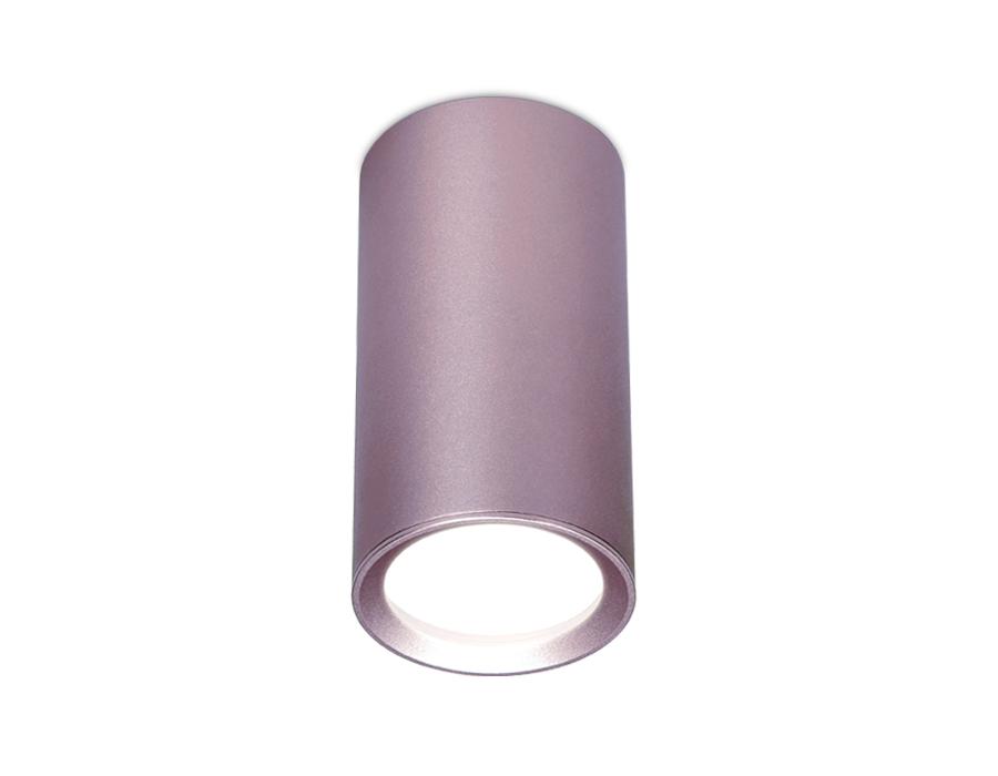 Накладной точечный светильник GU5.3TN220 PU/S фиолетовый/песок GU5.3 D56*100