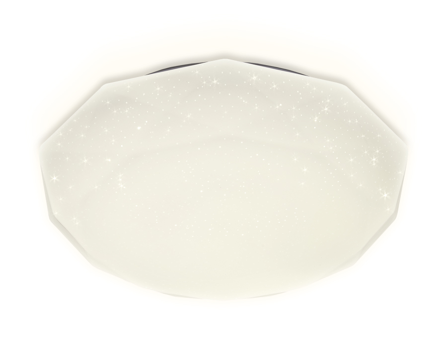Потолочный светодиодный светильник с пультом FF18 WH белый 72W 500*500*85 (ПДУ ИК)