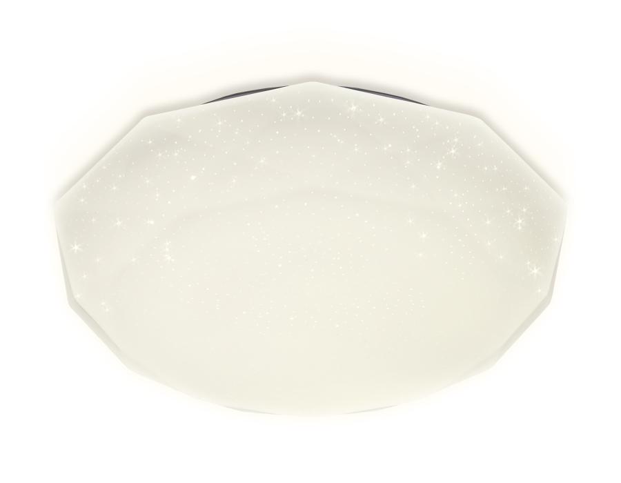 Потолочный светодиодный светильник с пультомFF17 WH белый 48W 400*400*75 (ПДУ ИК)