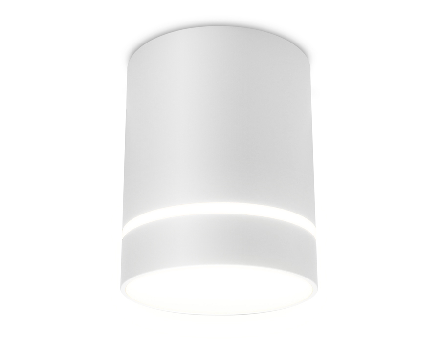 Накладной светодиодный точечный светильникTN280 SWH белый песок LED 4200K 9W D80*100