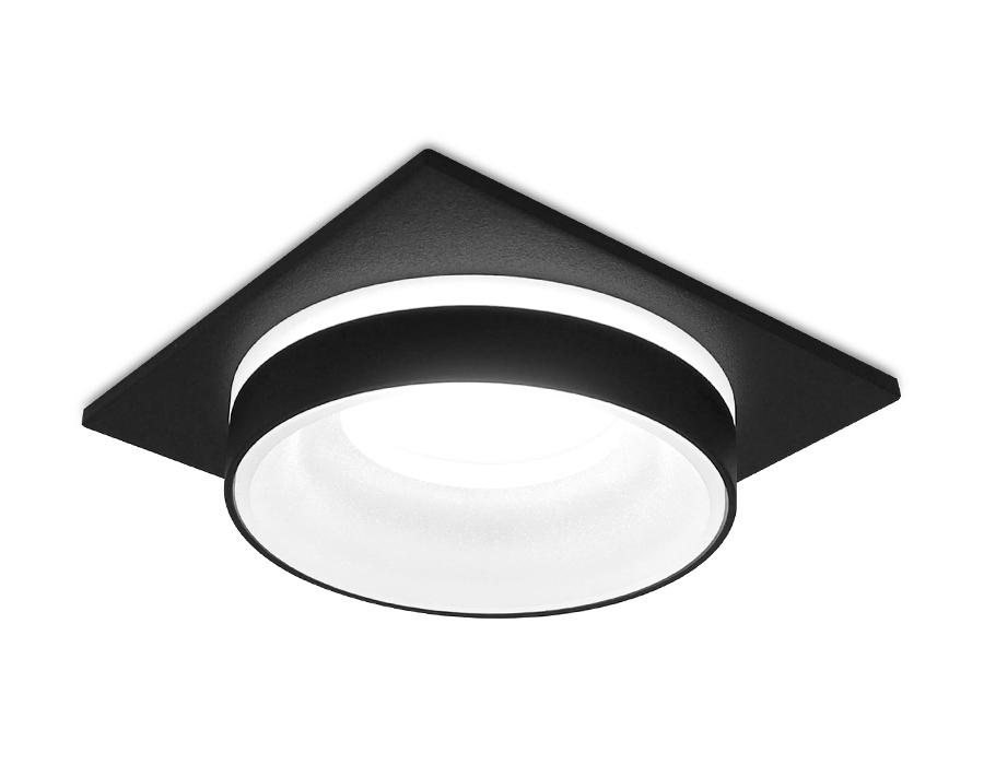 Встраиваемый точечный светильник MR16 в стиле техноTN315 SBK черный песок GU5.3 92*92*40