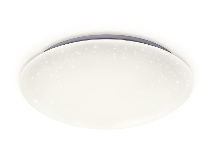 Потолочный светодиодный светильник с пультомFF41 WH белый 48W D400*105 (ПДУ ИК)
