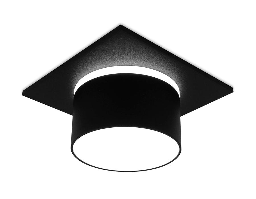Встраиваемый точечный светильник MR16 в стиле техноTN326 SBK черный песок GU5.3 92*92*60