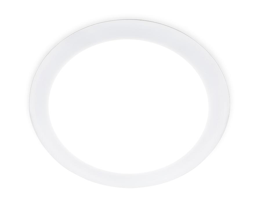 Встраиваемый светодиодный светильник ДаунлайтDLR 20W 4200K 185-250V (200W) (D220mm/A205mm)