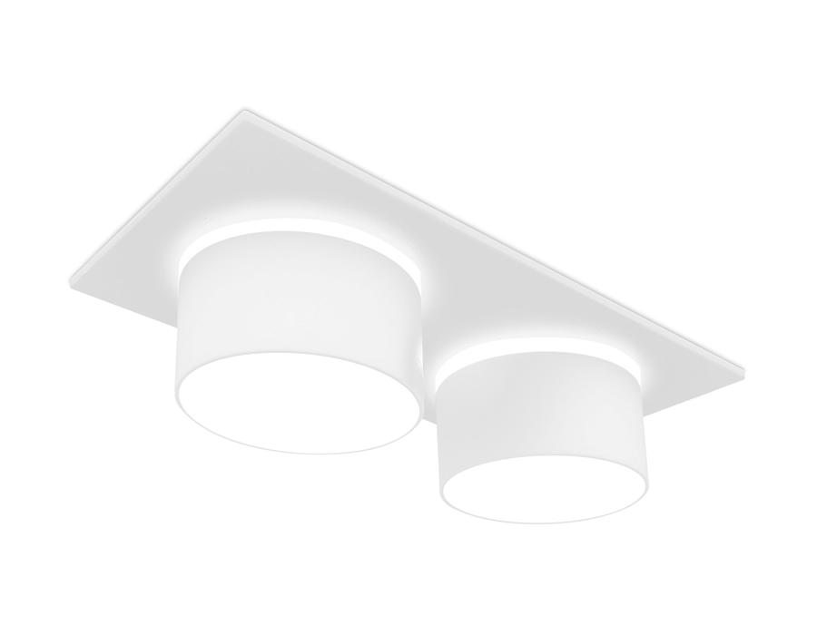 Встраиваемый точечный светильник MR16 в стиле техноTN330/2 SWH белый песок GU5.3 182*92*60