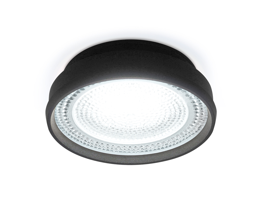 Встраиваемый точечный светильник MR16 в стиле техноTN346 SBK черный песок GU5.3 D85*45