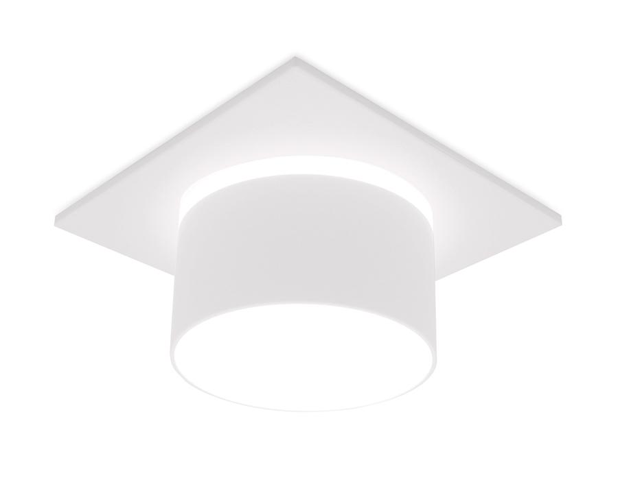Встраиваемый точечный светильник MR16 в стиле техноTN325 SWH белый песок GU5.3 92*92*60