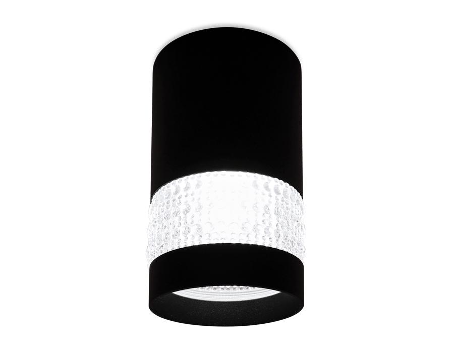 Накладной точечный светильник GU5.3TN374 SBK черный песок GU5.3 D65*117