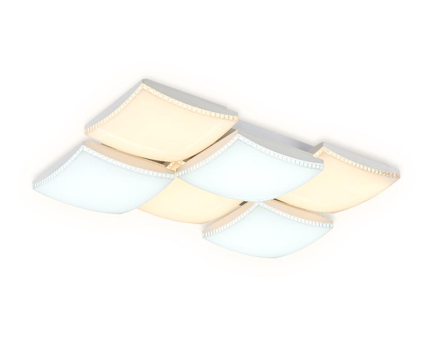 Потолочный светодиодный светильник с пультомFP2326 WH белый 216W 810*540*145 (ПДУ РАДИО 2.4)