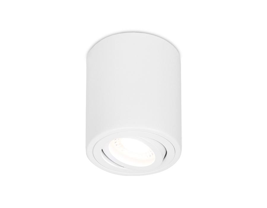 Накладной поворотный точечный светильникTN225 WH белый GU5.3 D80*100