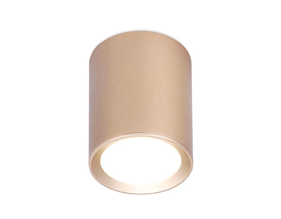 Накладной точечный светильник GU5.3TN216 GD/S золото/песок GU5.3 D56*70