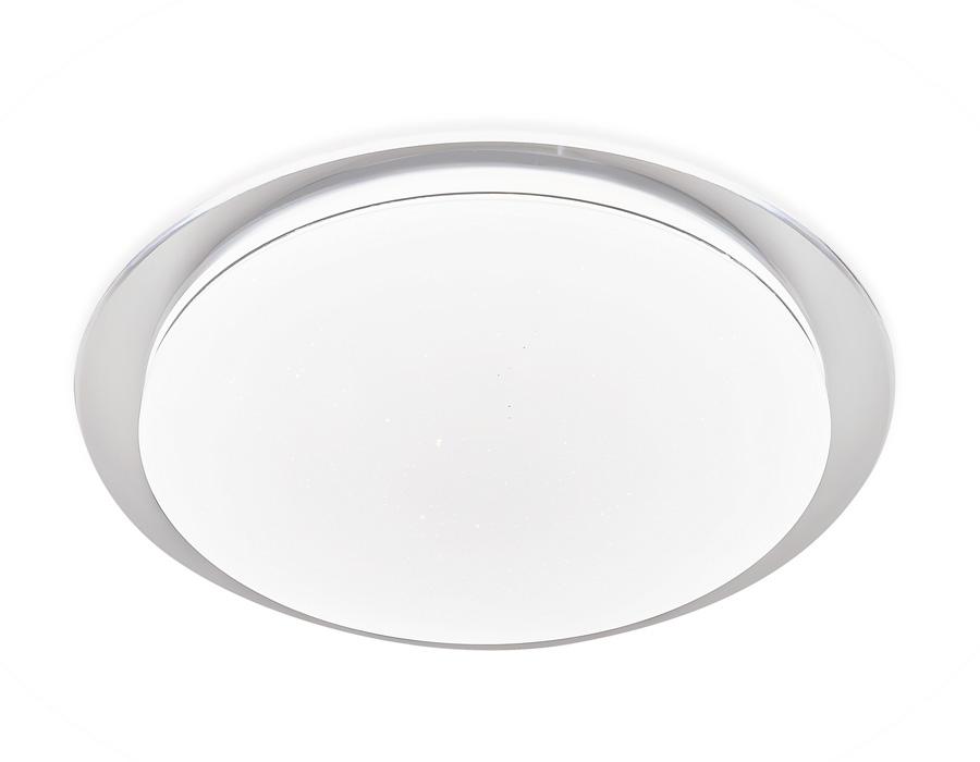 Потолочный светодиодный светильник с пультом FF47 WH белый 48W D450*70 (ПДУ ИК)