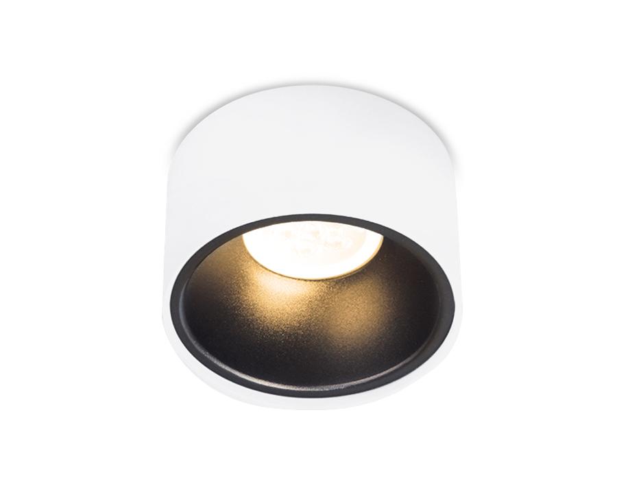 Встраиваемый точечный светильник MR16TN146 WH/BK белый/черный GU5.3 D96*78