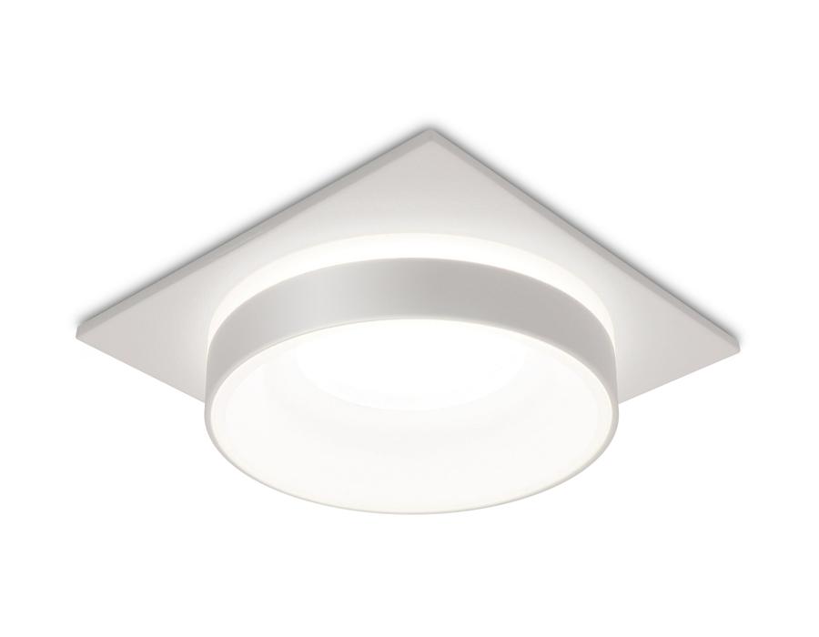 Встраиваемый точечный светильник MR16 в стиле техноTN314 SWH белый песок GU5.3 92*92*40