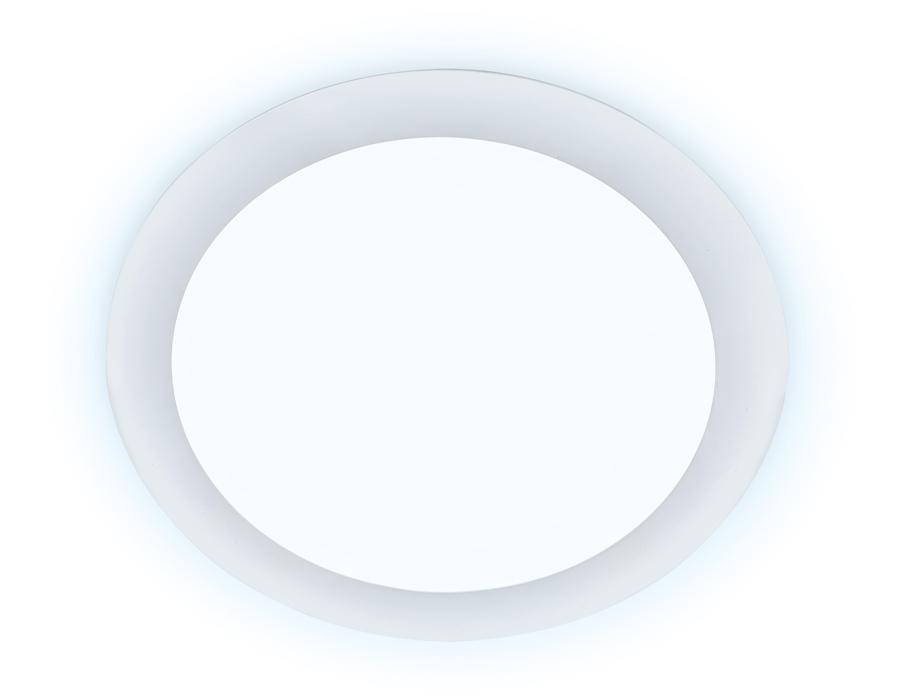 Встраиваемый светодиодный светильник ДаунлайтDLR 5W 6400K 185-250V (50W) (D80mm/A70mm)