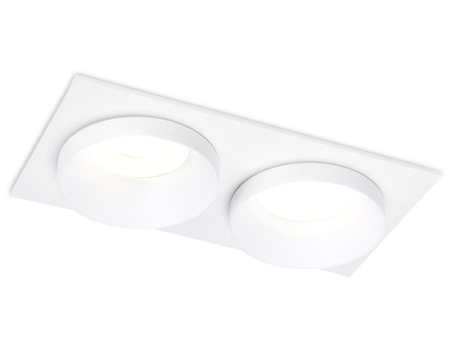 Встраиваемый точечный светильник MR16TN170/2 WH белый GU5.3 175*92*40