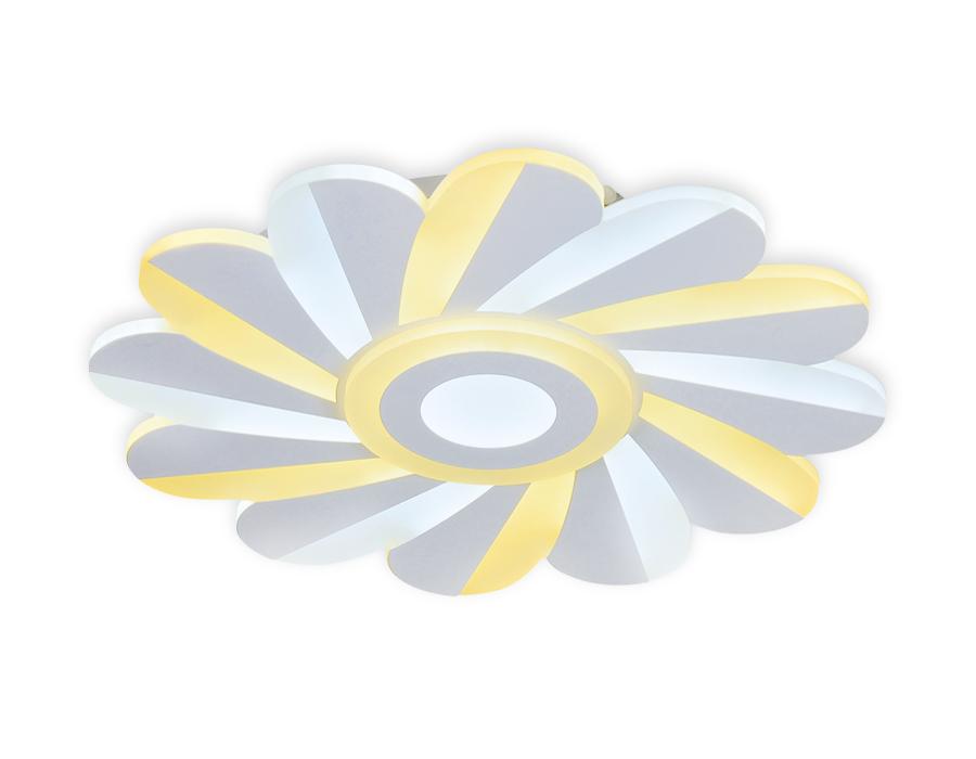 Потолочный светодиодный светильник с пультомFA850 WH белый 70W D500*45 (ПДУ РАДИО 2.4)